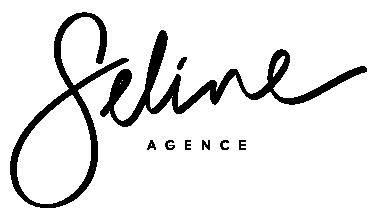 Agence seline logo noir